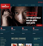 Charity Moto CMS HTML  Template 49179