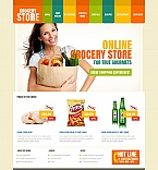 Food & Drink Moto CMS HTML  Template 49184