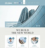 Architecture Flash CMS  Template 49196