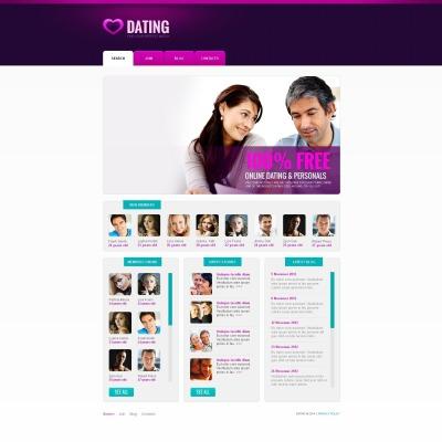 gratis dating html skabeloner