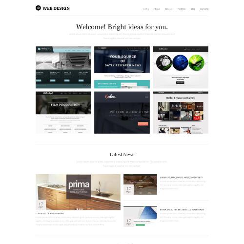 Web Design - HTML5 Drupal Template