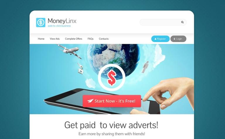 Financial Advisor Responsive Website Template - Photo sharing website template
