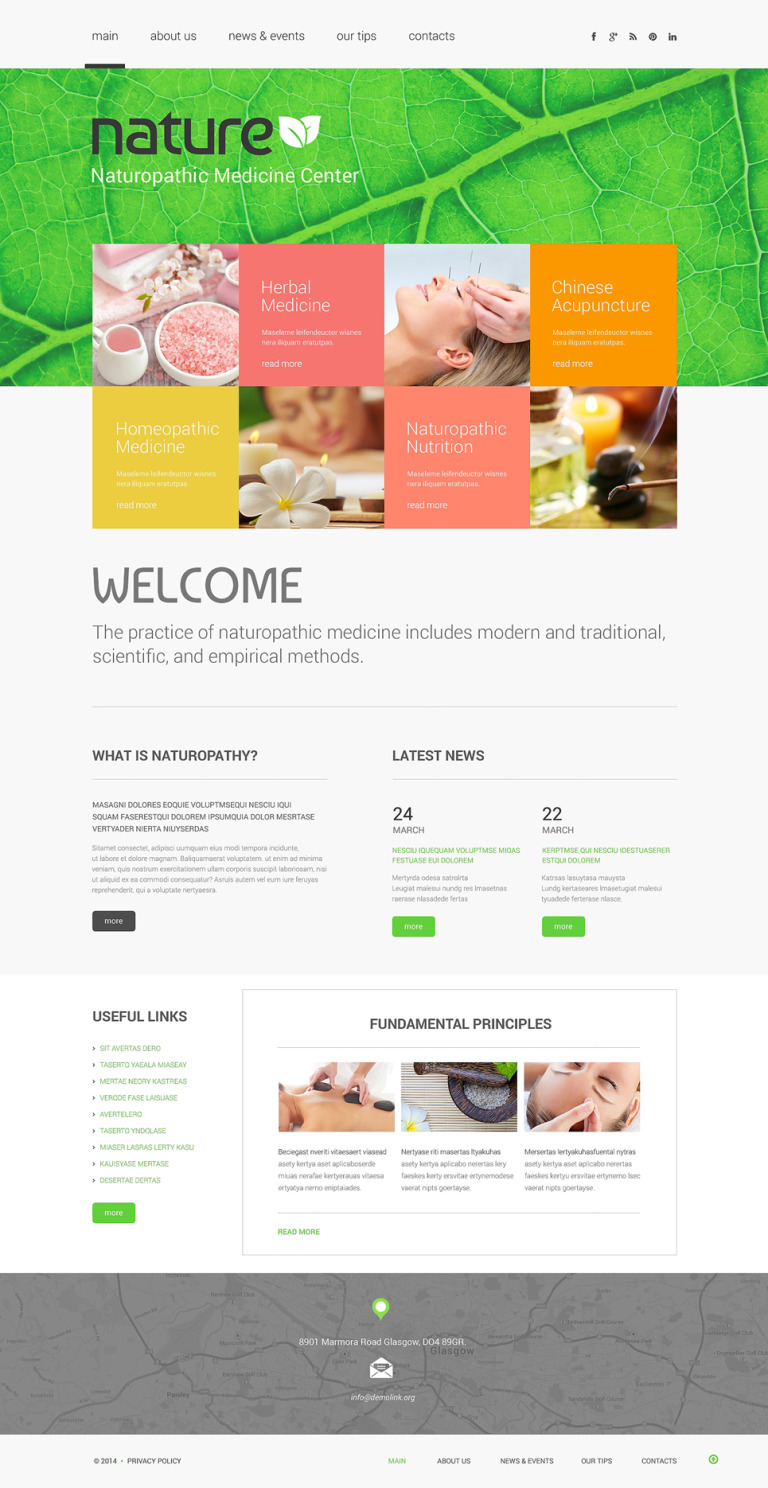 Herbal Responsive Website Template New Screenshots BIG