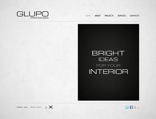 Interior Design Flash CMS Template New Screenshots BIG