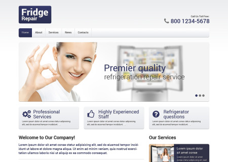 Maintenance Services Responsive