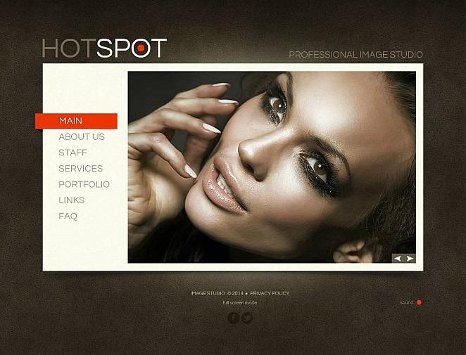 Photo Lab Flash CMS Template New Screenshots BIG