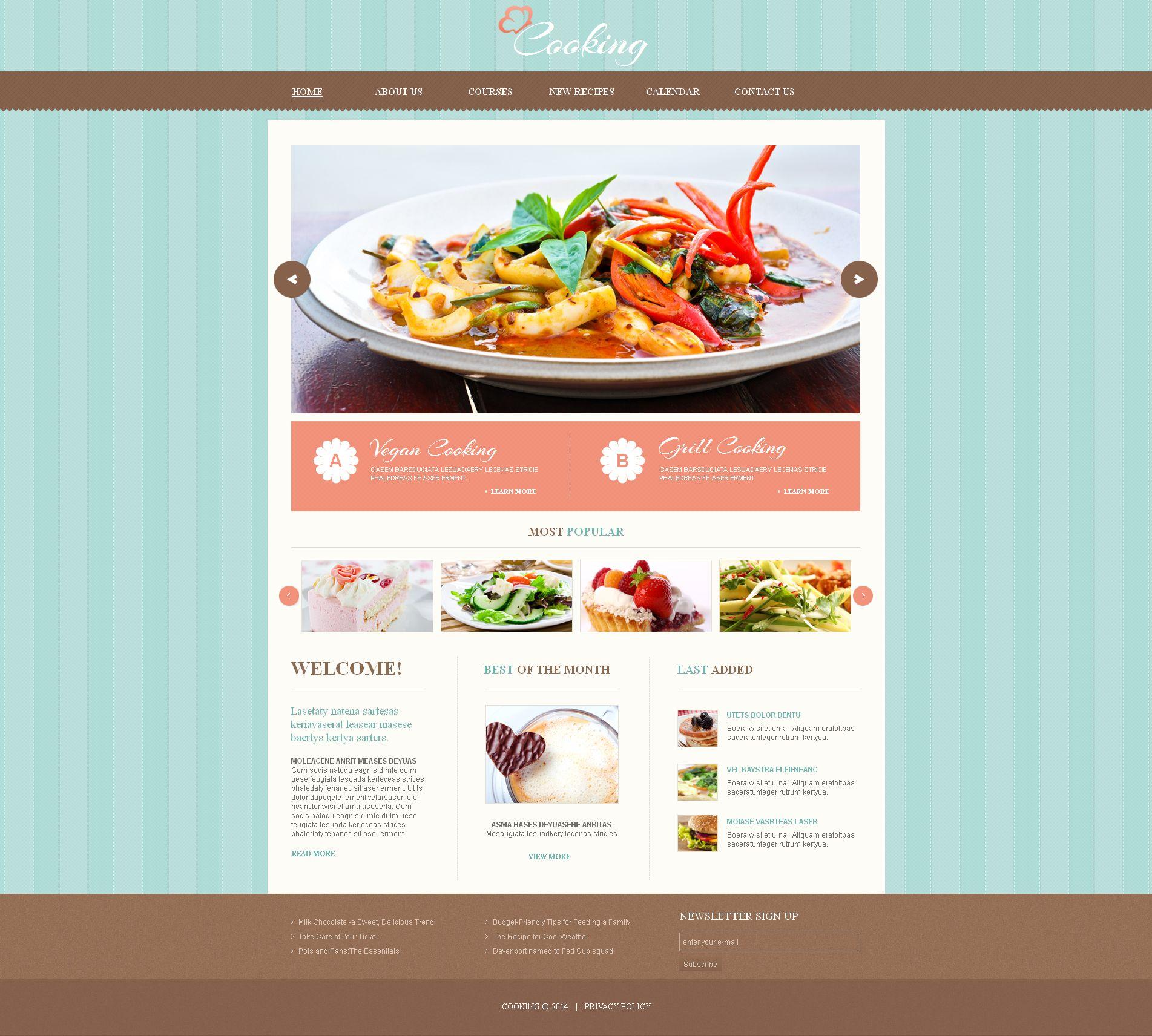 Plantilla moto cms html 49170 para sitio de cocina for Plantillas de cocina