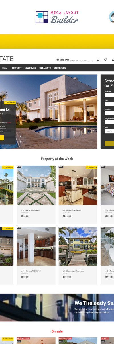 Real Estate Business PrestaShop Theme