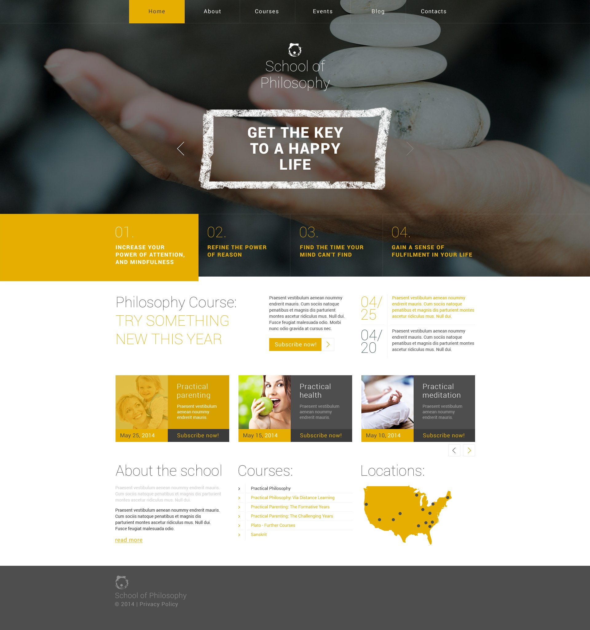 Responsives WordPress Theme für Karriere & Sonderbildung #49141 - Screenshot