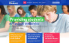 Responsywny szablon strony www #49137 na temat: uniwersytet New Screenshots BIG