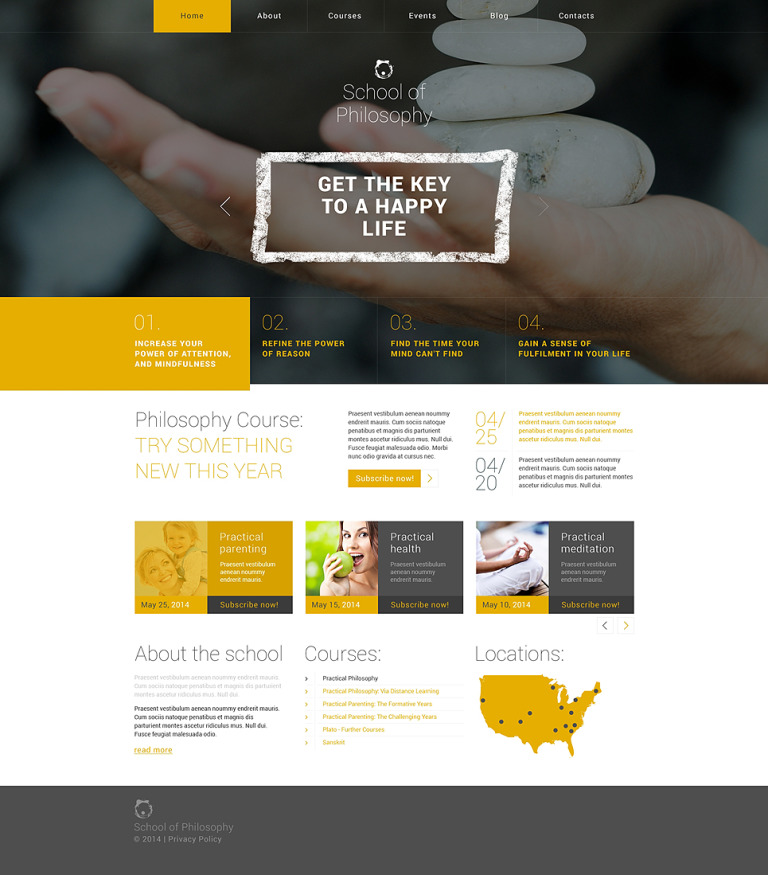Science Responsive WordPress Theme New Screenshots BIG
