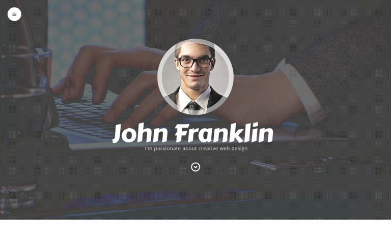 Tema de WordPress #49156 para Sitio de Portafolios de diseñadores