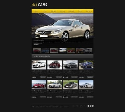 Car Dealer Tema Moto CMS HTML
