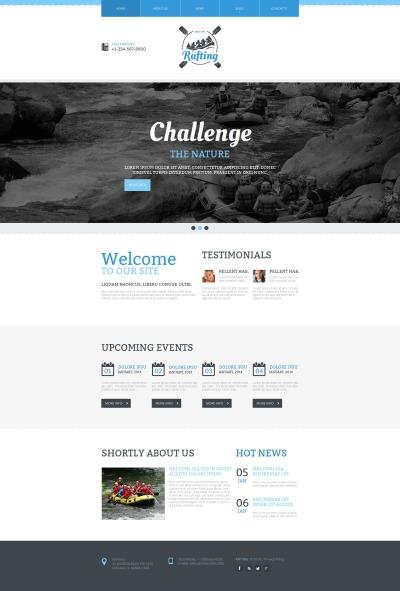 Rafting Tema Moto CMS HTML