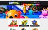 """""""Trampolines  Bouncers Store"""" - адаптивний WooCommerce шаблон New Screenshots BIG"""