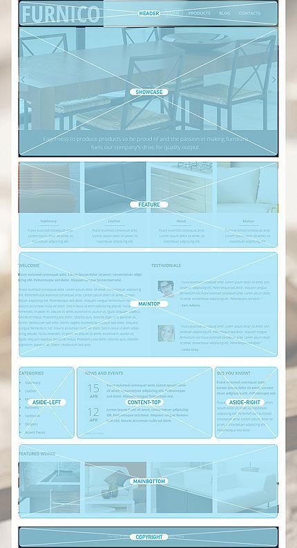 Joomla Theme/Template 49204 Main Page Screenshot