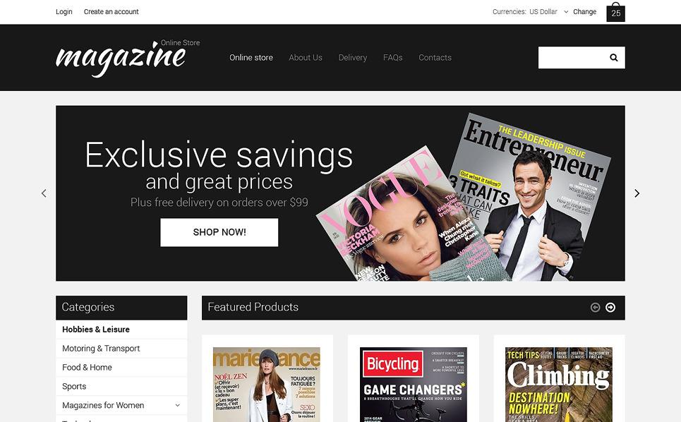 VirtueMart Template over Nieuws Website  New Screenshots BIG