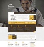 Personal Page Website  Template 49206