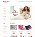 Wedding OpenCart  Template 49208