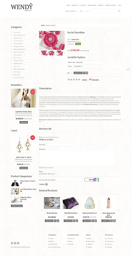 ADOBE Photoshop Template 49208 Home Page Screenshot