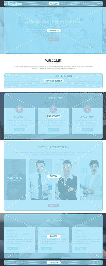 Joomla Theme/Template 49216 Main Page Screenshot