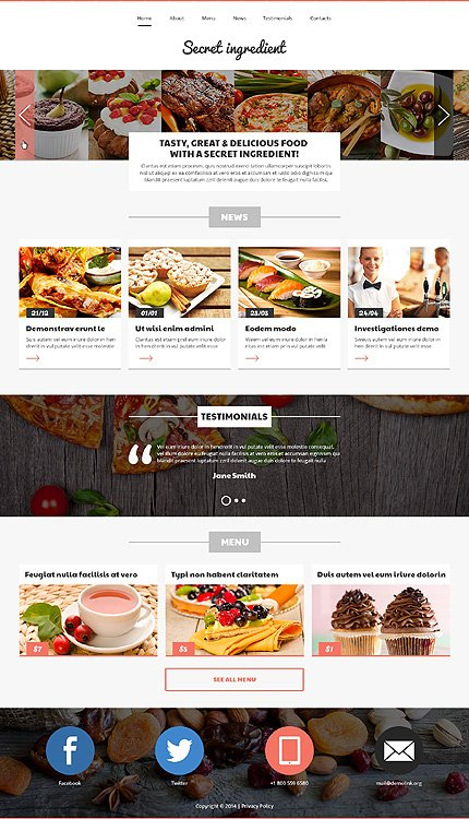 Joomla Theme/Template 49218 Main Page Screenshot