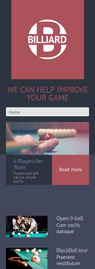 WordPress Theme/Template 49220 Main Page Screenshot