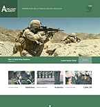 Military WordPress Template 49221