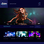 Night Club WordPress Template 49223
