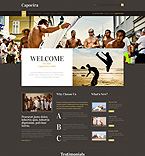 Sport WordPress Template 49225