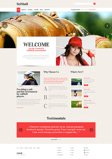 Website Template #49226