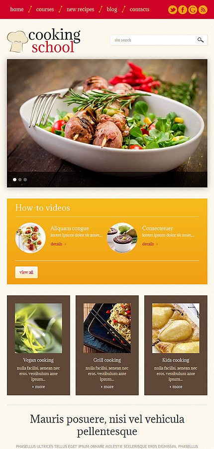 WordPress Theme/Template 49228 Main Page Screenshot