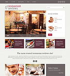 Cafe & Restaurant WordPress Template 49230