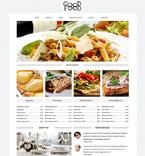 Cafe & Restaurant Drupal  Template 49236