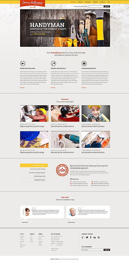 Drupal Template 49237 Main Page Screenshot