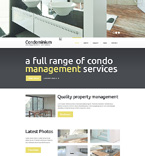Real Estate Website  Template 49241