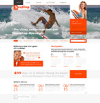 Sport Website  Template 49242