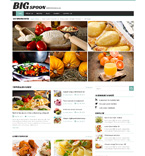 Food & Drink WordPress Template 49250