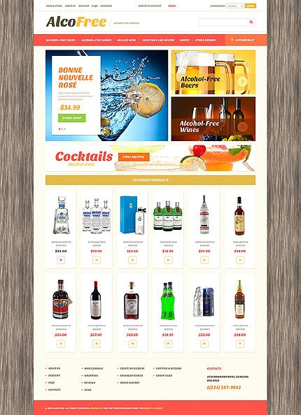 ADOBE Photoshop Template 49254 Home Page Screenshot