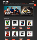 Entertainment OpenCart  Template 49258