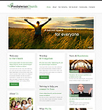 Religious Website  Template 49262