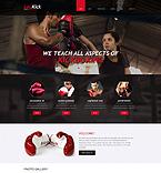 Sport Website  Template 49263