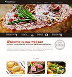 Cafe & Restaurant Website  Template 49265