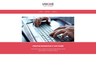 Web Design Newsletter Template
