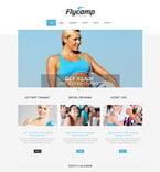 Sport Website  Template 49270