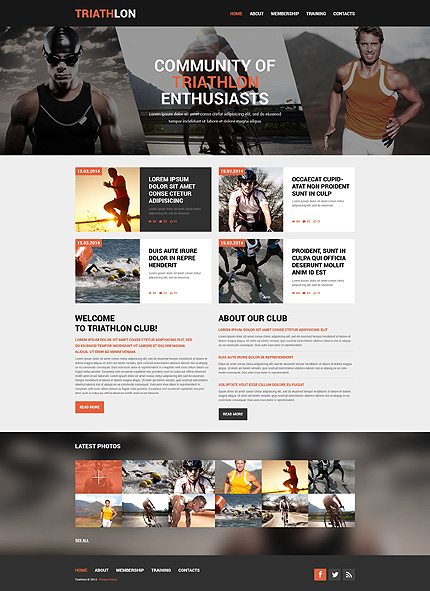 Website Template #49271