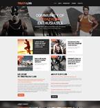 Sport Website  Template 49271