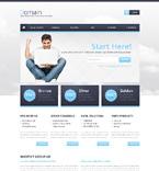 Web Hosting Website  Template 49279