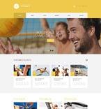Sport WordPress Template 49281