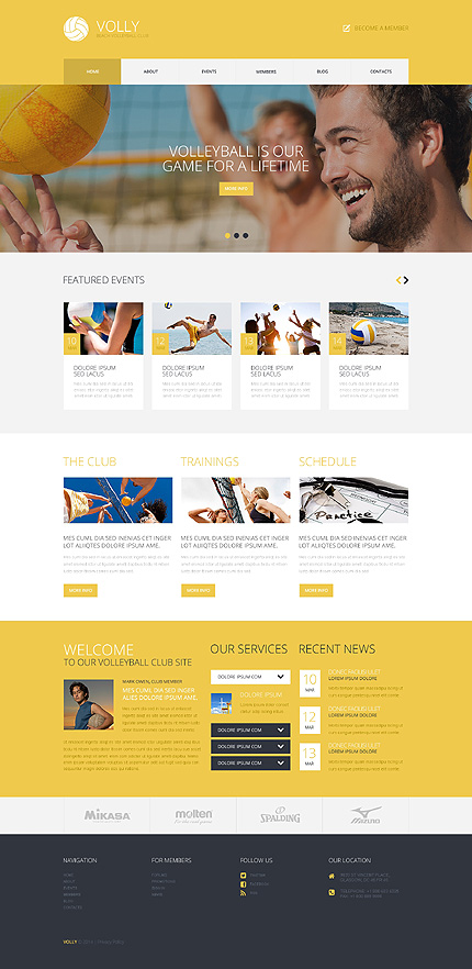 Website Template #49281